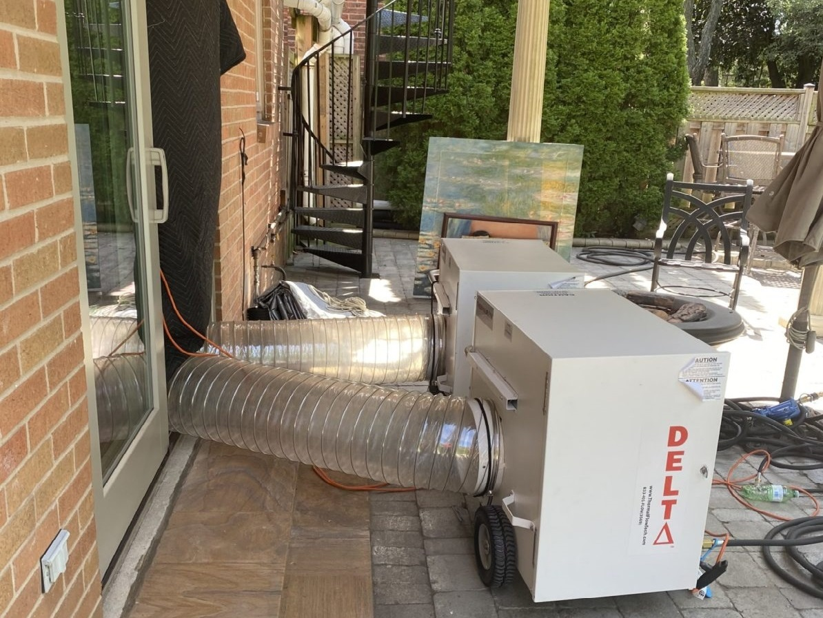 pest control by commercial heaters